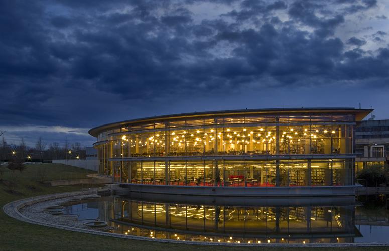 Bibliotheksgebäude der Fachhochschule Regensburg