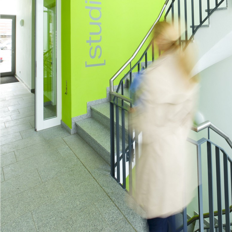 Lebendiges Farbkonzept, Beispiel studiosus 2