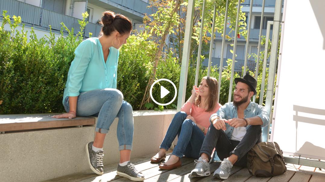 Lebendige Architektur im studiosus – Lifestyle-Apartments für Studenten
